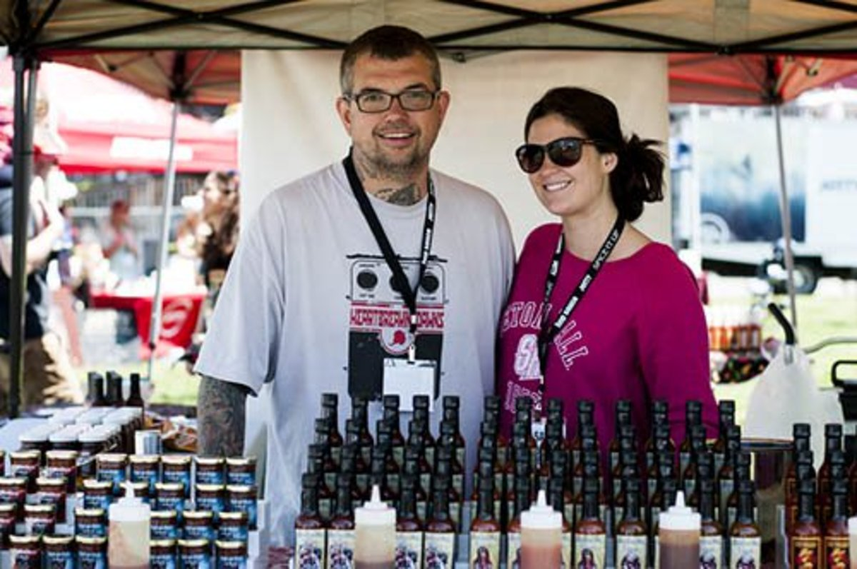 Chef Johnny McLaughlin will have his Heartbreaking Dawn's at the NYC Hot Sauce Expo. McLaughlin worked for years in the tattoo industry before he followed his peppery passion.