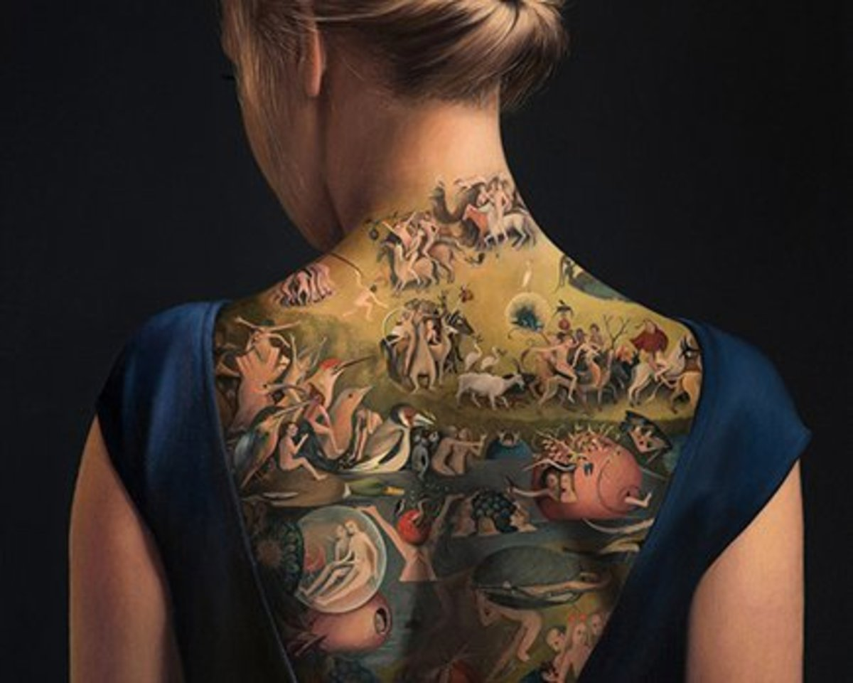 Tattoo Ideas Artists And Models: This Painter Transforms Classic Art Into Modern Tattoo