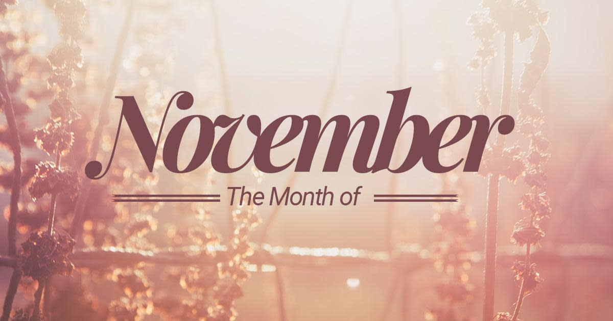 the-month-november