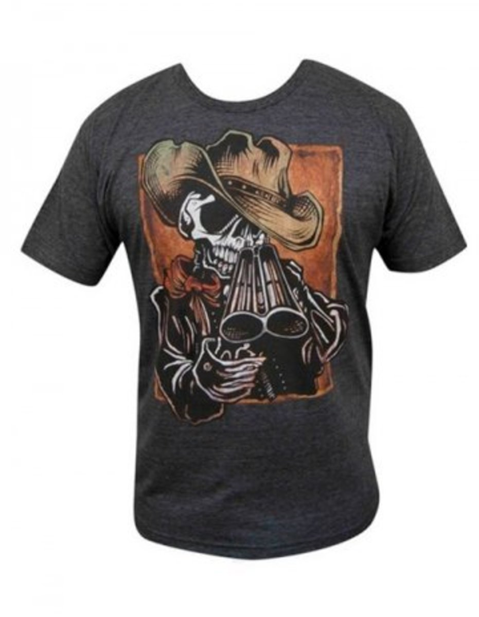 """Available at INKEDSHOP.COM: Men's """"Draw"""" Tee by Lowbrow Art Company"""