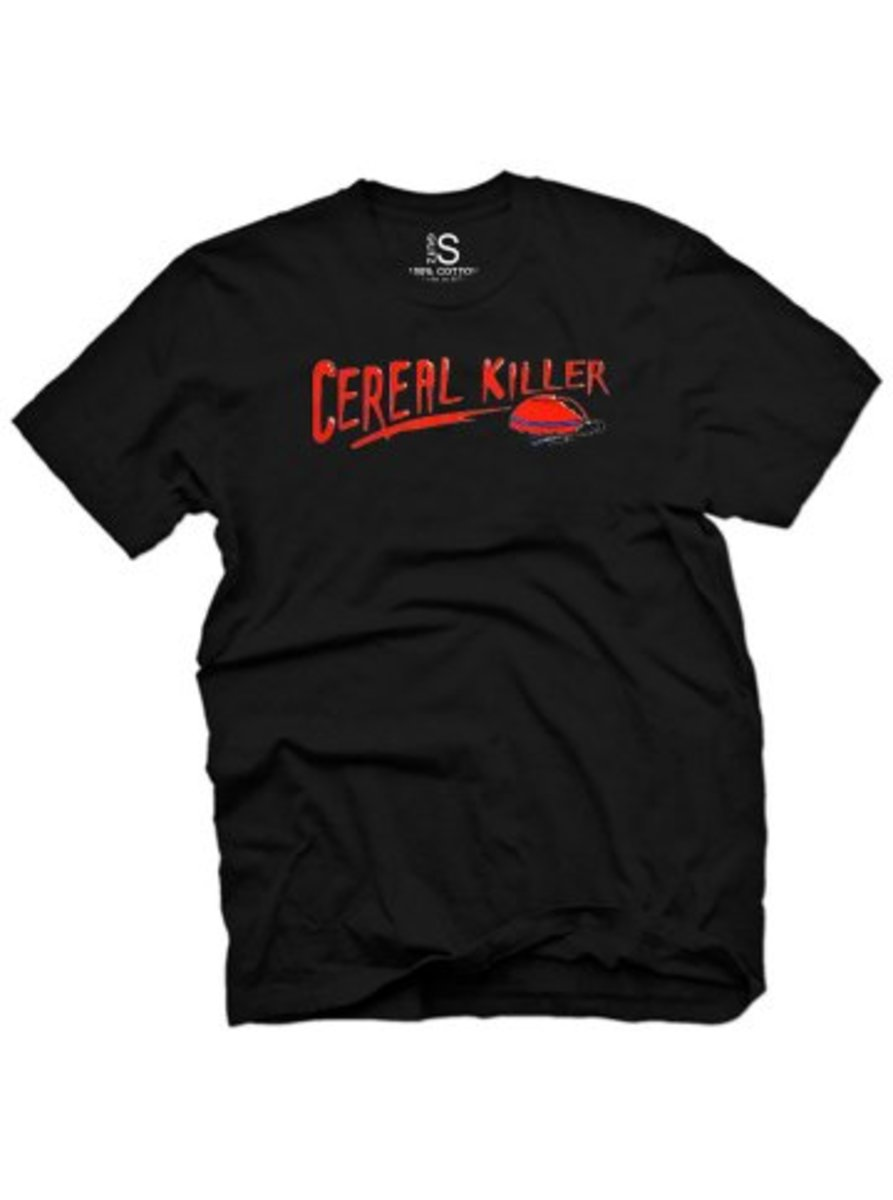 "Available at INKEDSHOP.COM: Men's ""Cereal Killer"" Vintage Tee by Glitz Apparel"