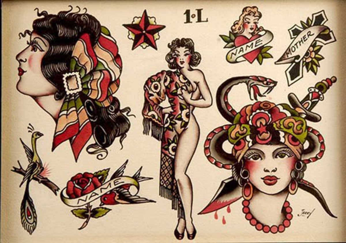 Sailor Jerry S Secrets As Told By Lance Mclain Tattoo Ideas Artists And Models
