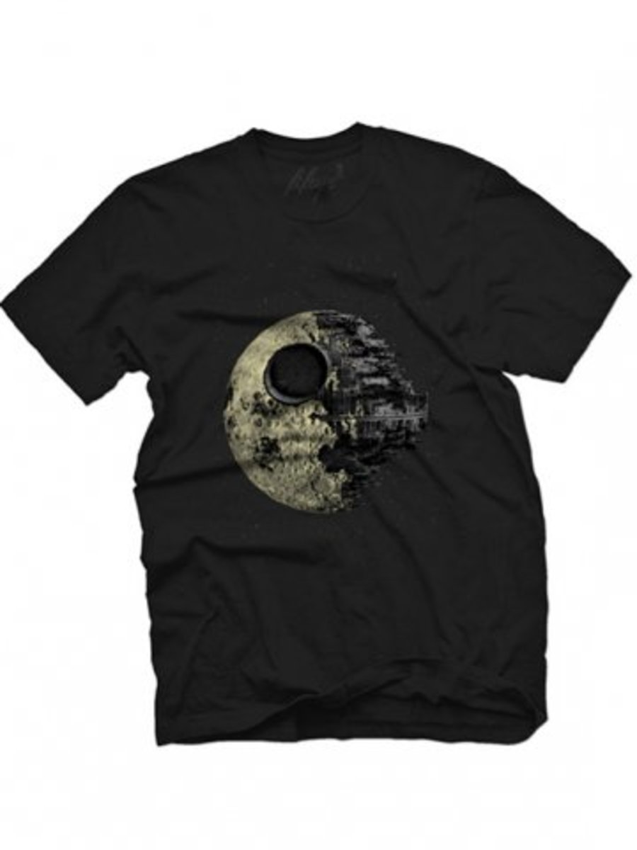 """Available at INKEDSHOP.COM: Men's """"Dark Side of the Moon"""" Tee by Fifty5 Clothing"""