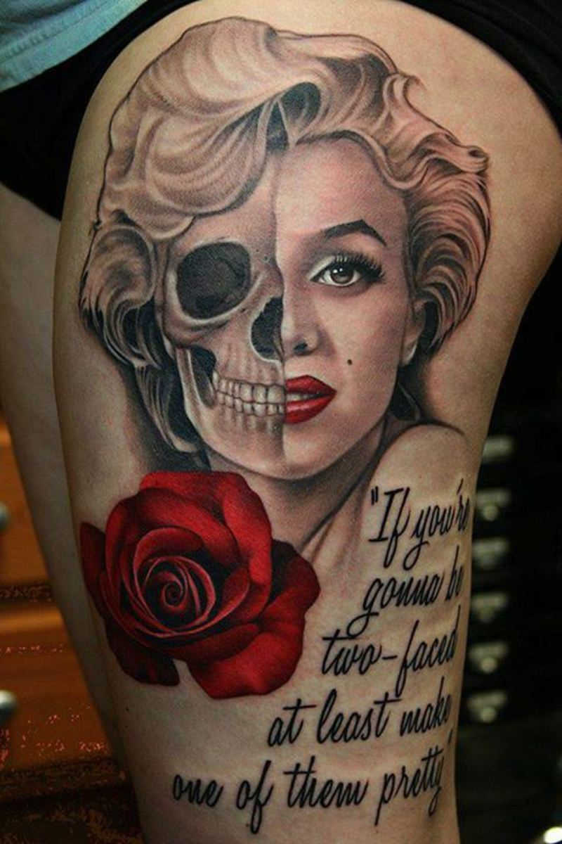 Marilyn Monroe Two Faced