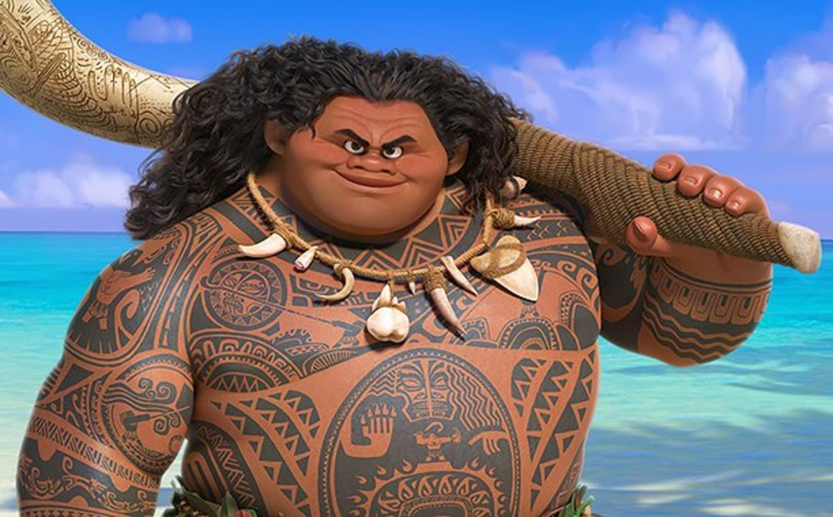 An Inside Look at the Tattoos in Disney's Moana - Tattoo ...