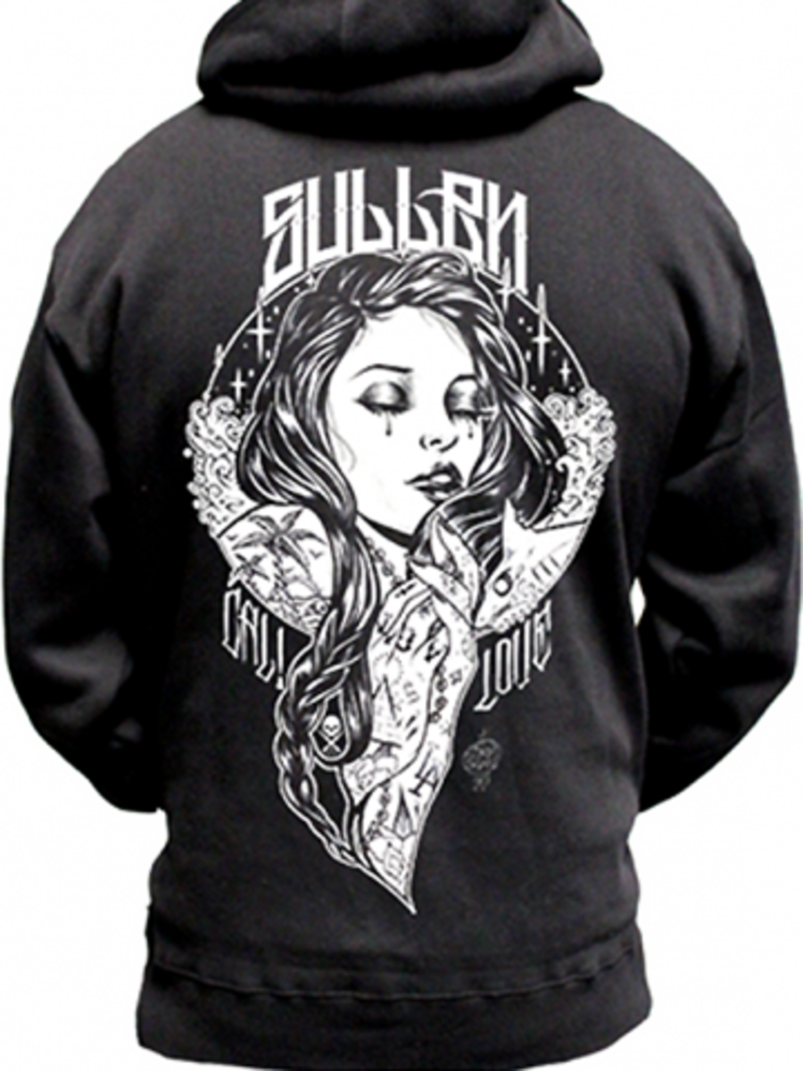 "Available at INKEDSHOP.COM: Men's ""California Dreamin"" Zip Hoodie by Sullen Clothing"