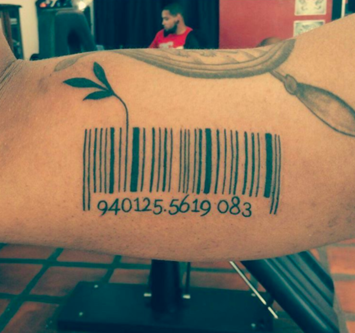 Scannable Barcode Tattoos Tattoo Ideas Artists And Models