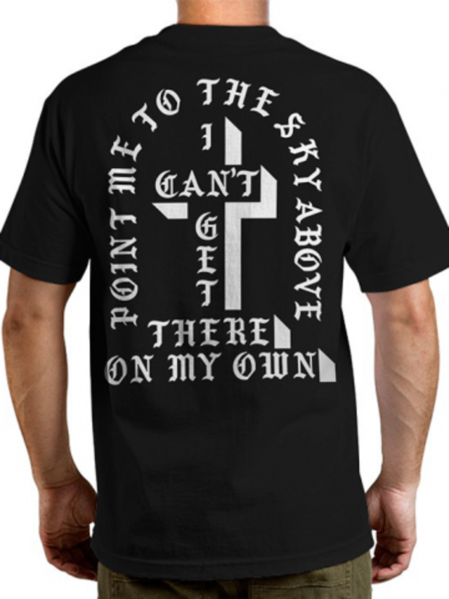 "Available at INKEDSHOP.COM: Men's ""Misfits Cross"" Tee by Famous Stars & Straps"