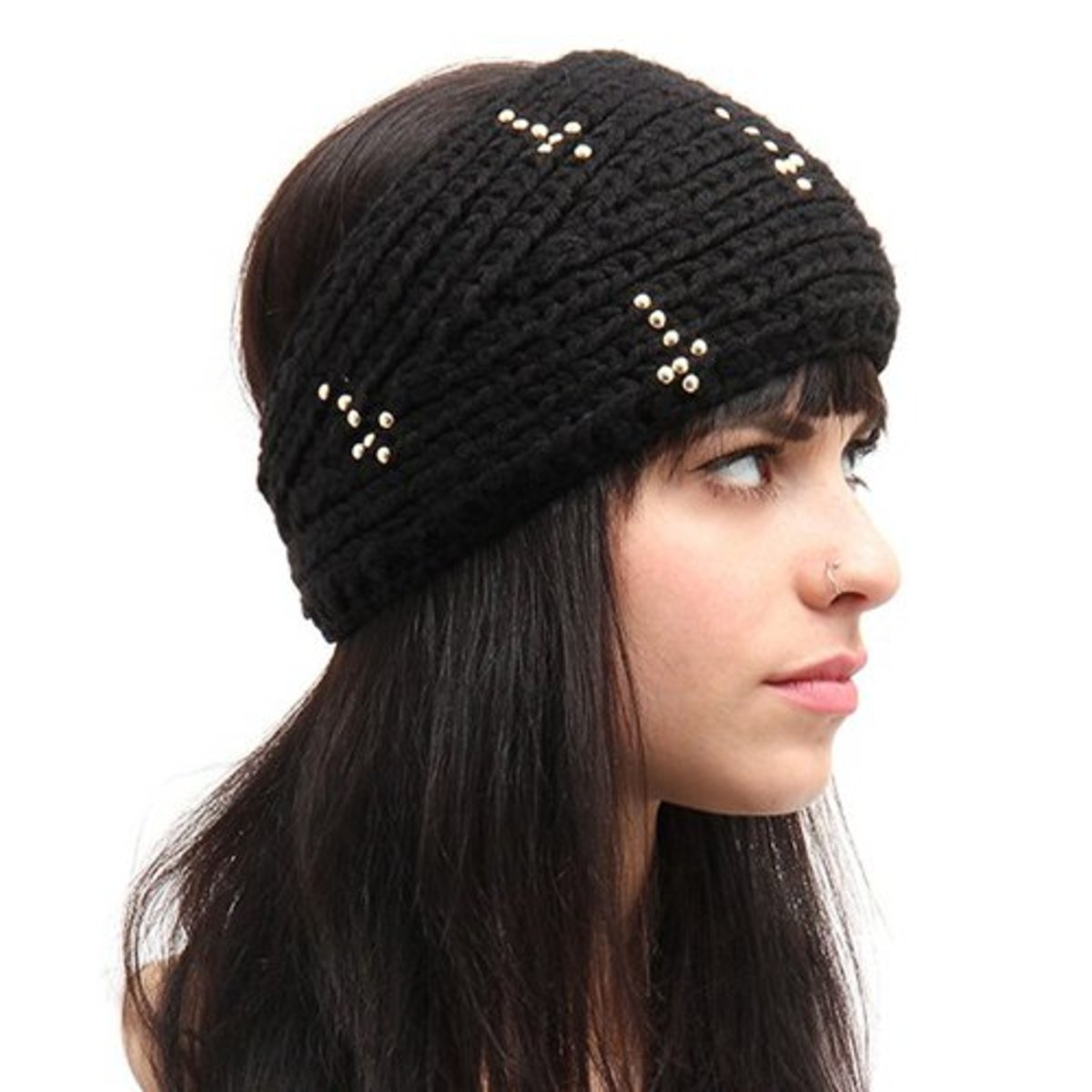 9-Knit-Headband-with-Beaded-Cross-Detail
