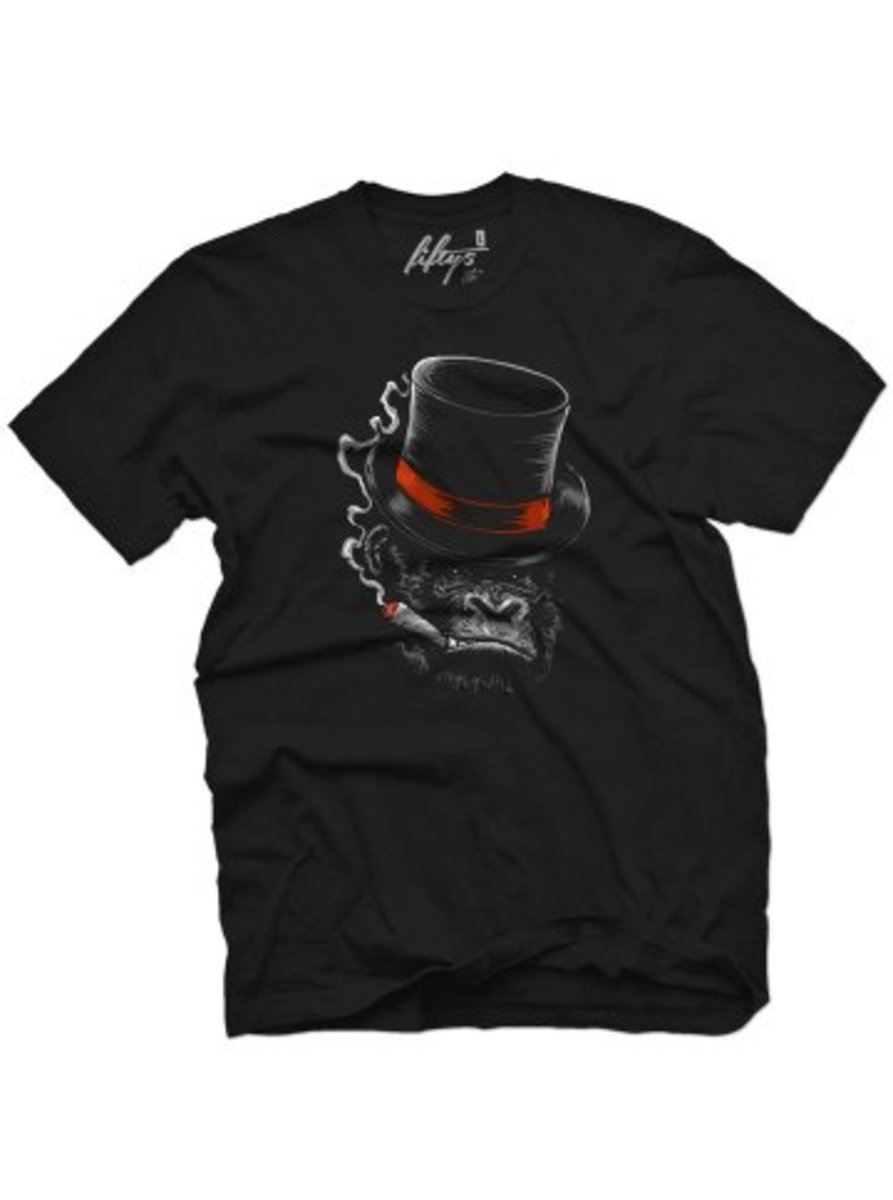 "Available at INKEDSHOP.COM: Men's ""Like A Boss"" Tee by Fifty5 Clothing"