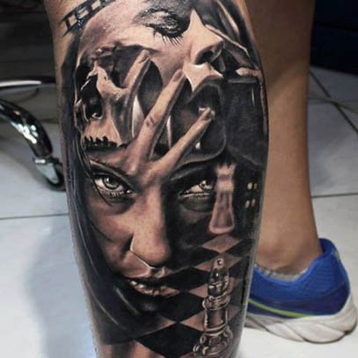 Male Leg Tattoos - Tattoo Ideas, Artists And Models