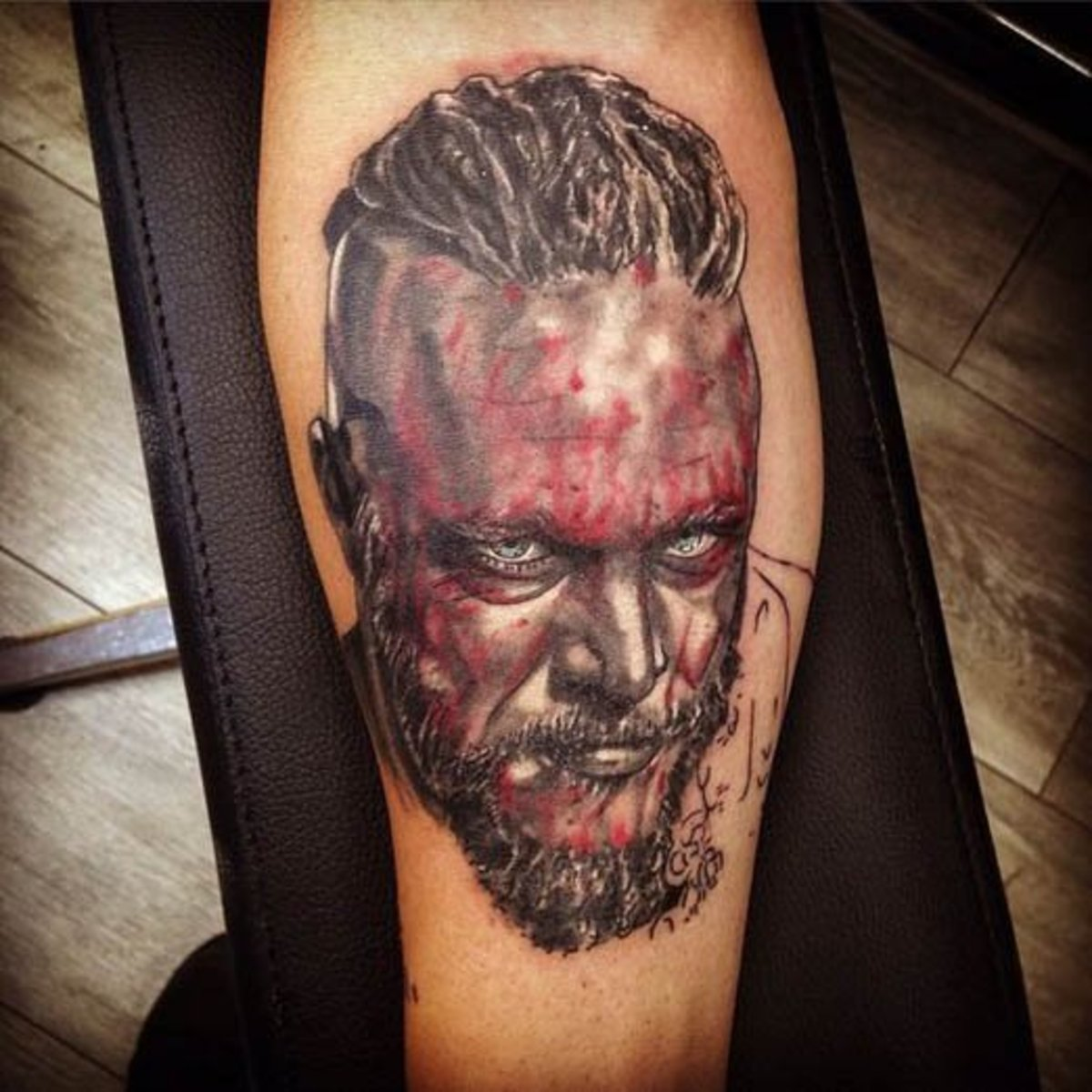 Ragnar vikings tattoo