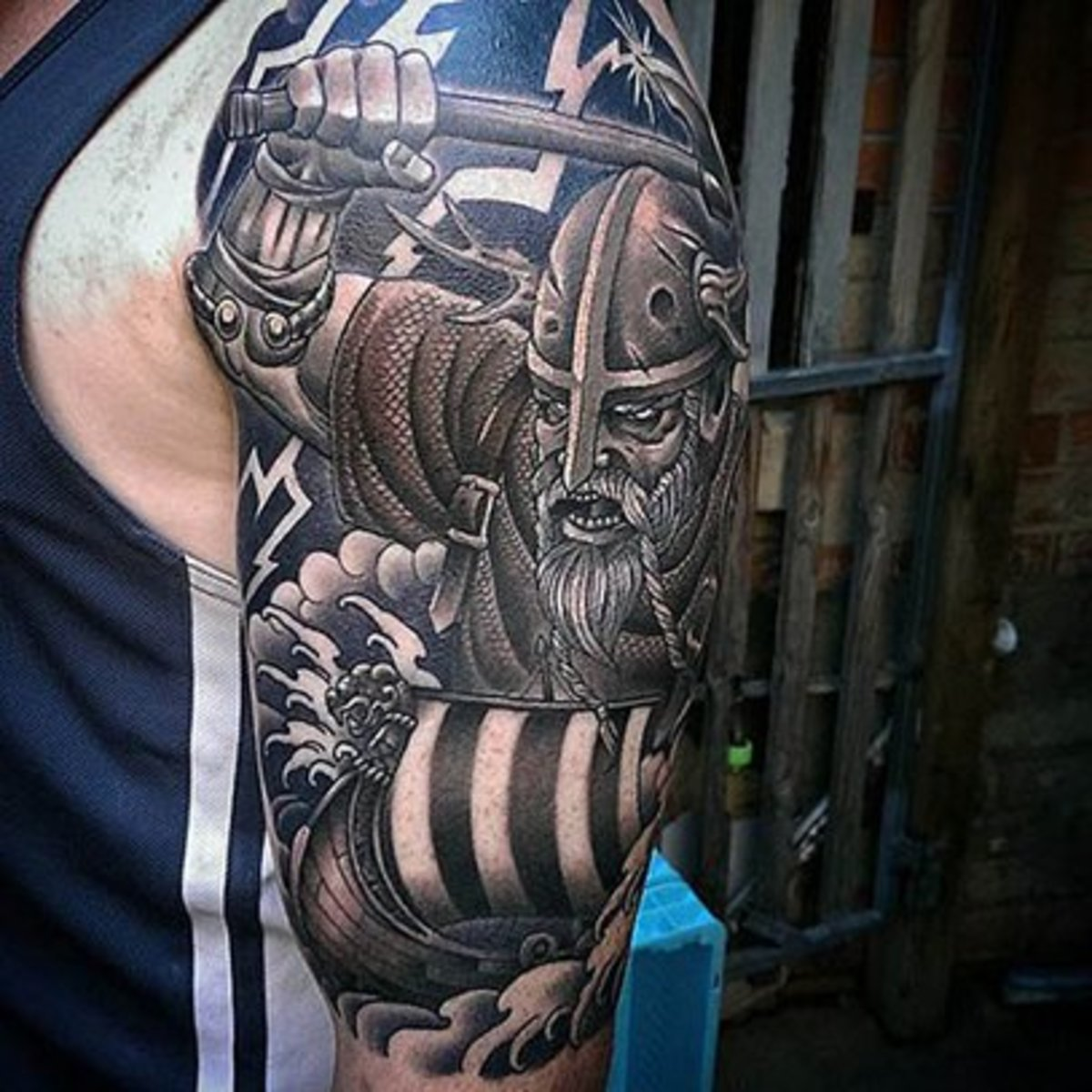 31 viking tattoos to inspire the norse in you | inked magazine