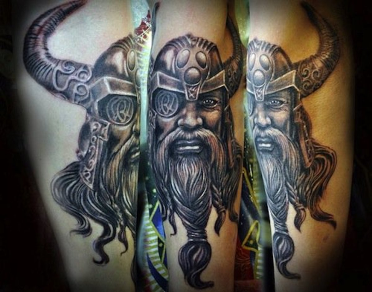 31 Viking Tattoos to Inspire the Norse in You | Inked ...Norse Viking Tattoo Designs