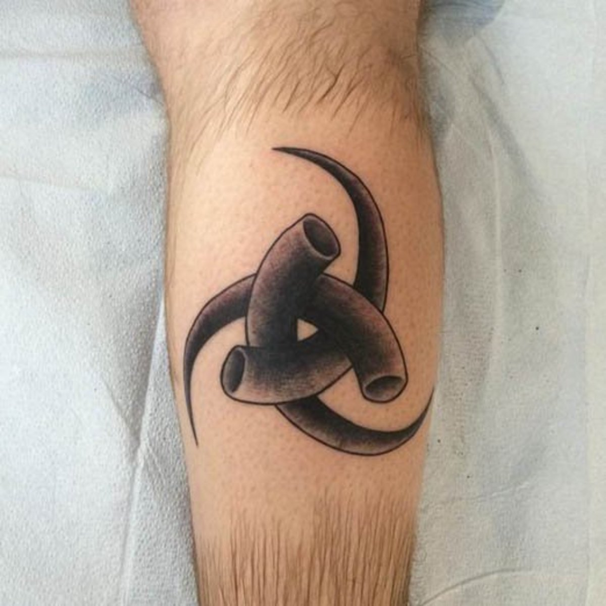 horns of odin tattoo