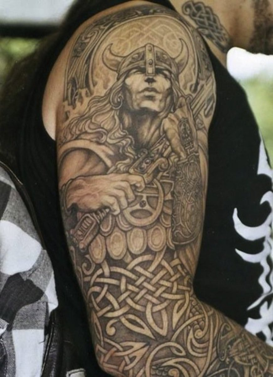 804081d1c3190 31 Viking Tattoos to Inspire the Norse in You | Inked Magazine ...