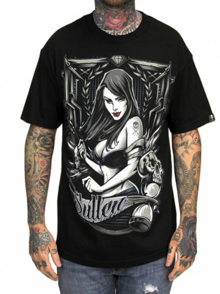 """Available at INKEDSHOP.COM: Men's """"In Time"""" Tee by Sullen Clothing"""