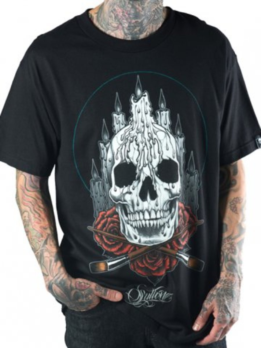 "Available at INKEDSHOP.COM: Men's ""Altar"" Tee by Sullen Clothing"