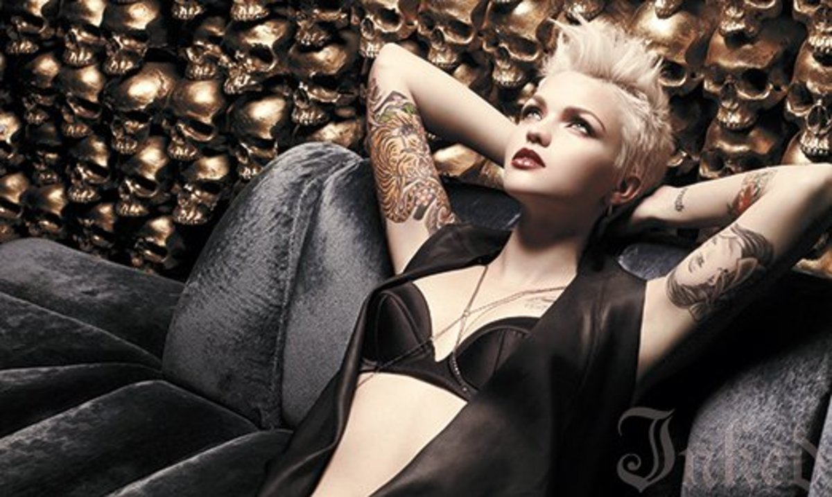 See Ruby Rose's EXCLUSIVE Inked Shoot here.