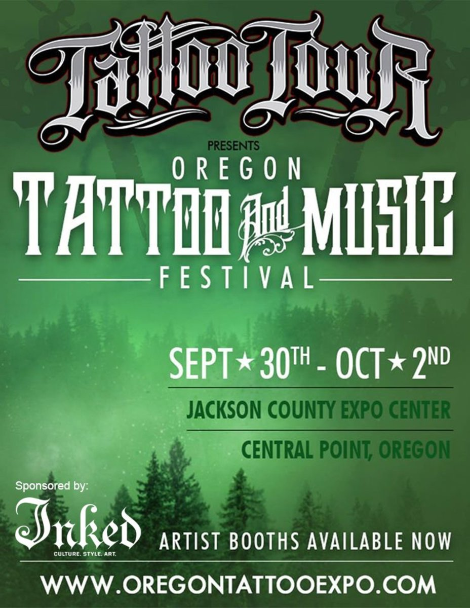 TATTOO TOUR IG FLYER