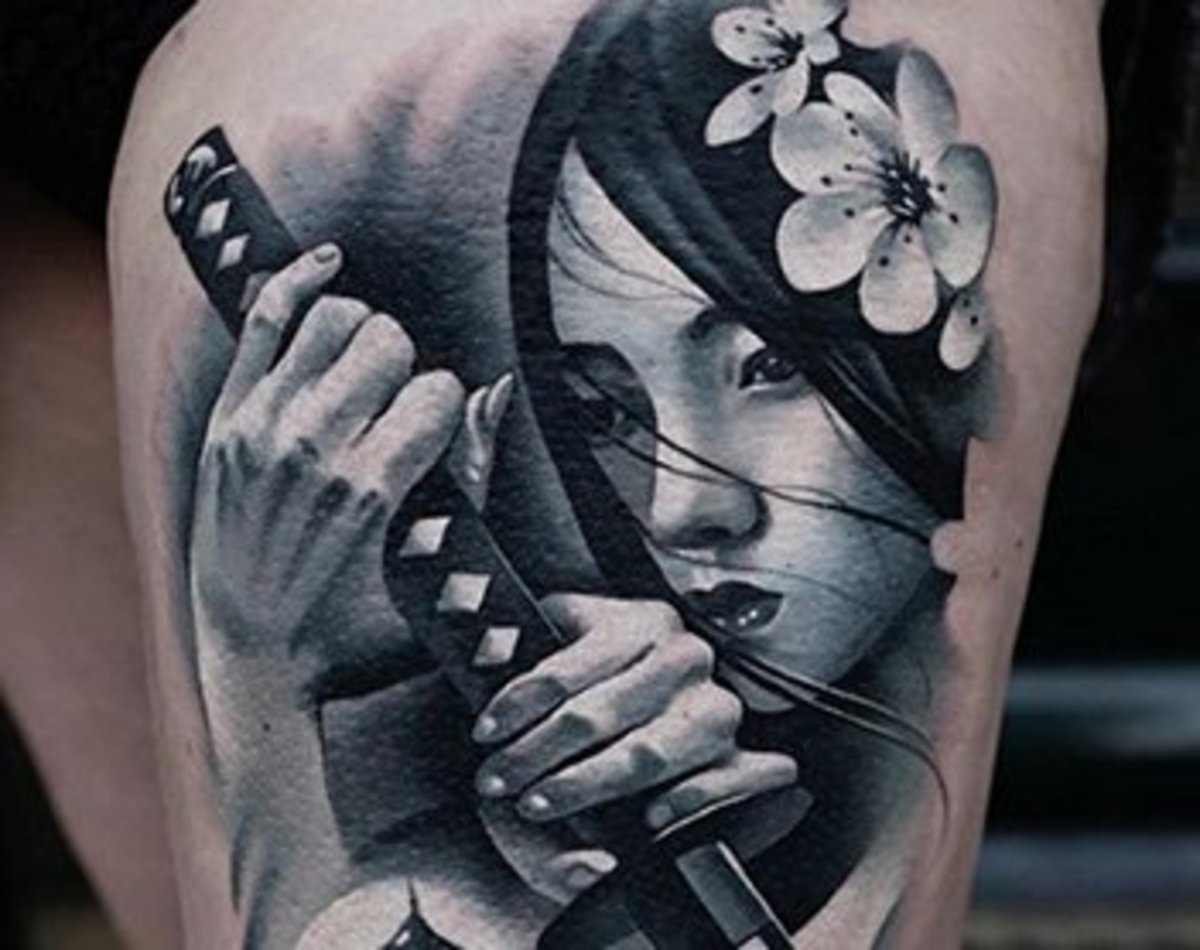 How These Tattoos Are Breaking The Rules Of Black And Grey
