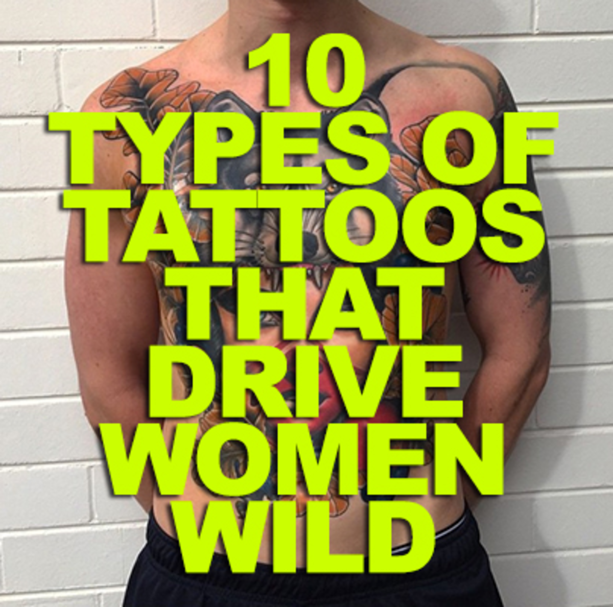 10 types of tattoos that drive women wild