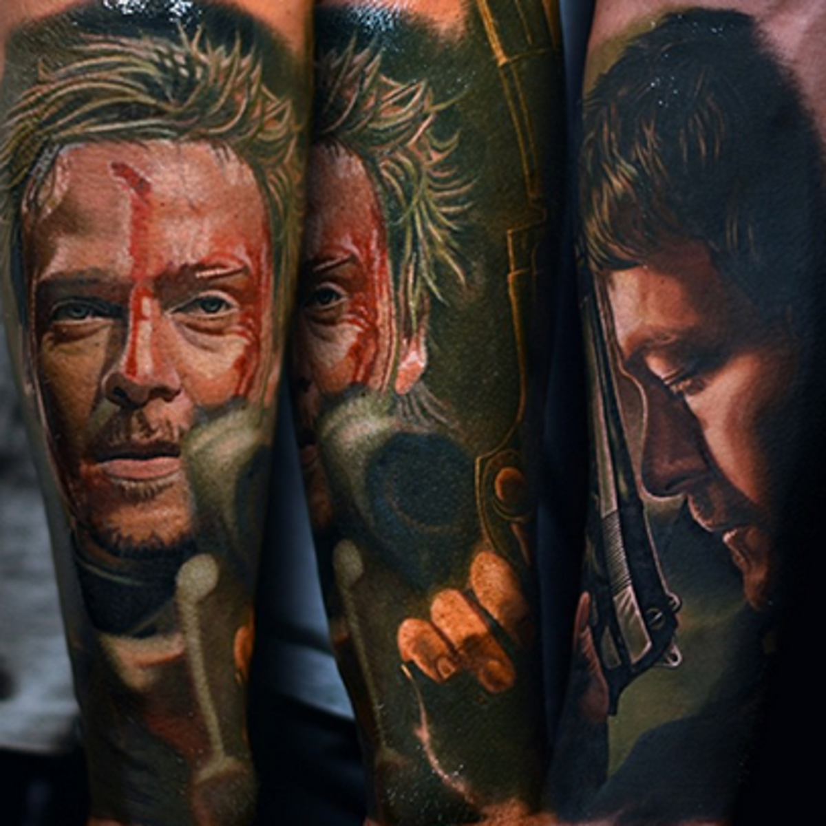 """Tattoo Ideas Artists And Models: """"The Boondock Saints"""" TV Show And Tattoos"""