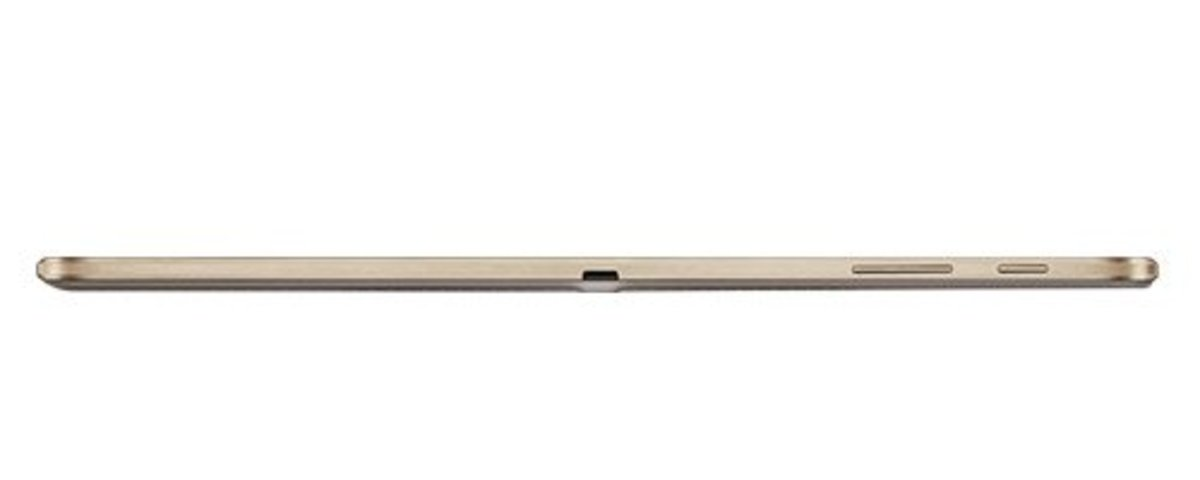 Seriously, look how thin the tablet is. It's amazing!