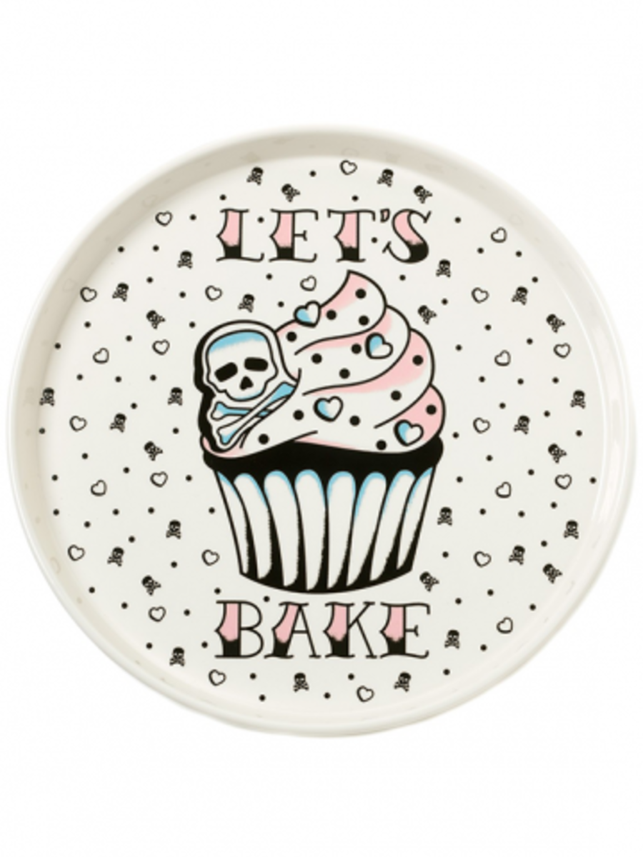 Available at INKEDSHOP.COM: Let's Bake Platter by Sourpuss Clothing
