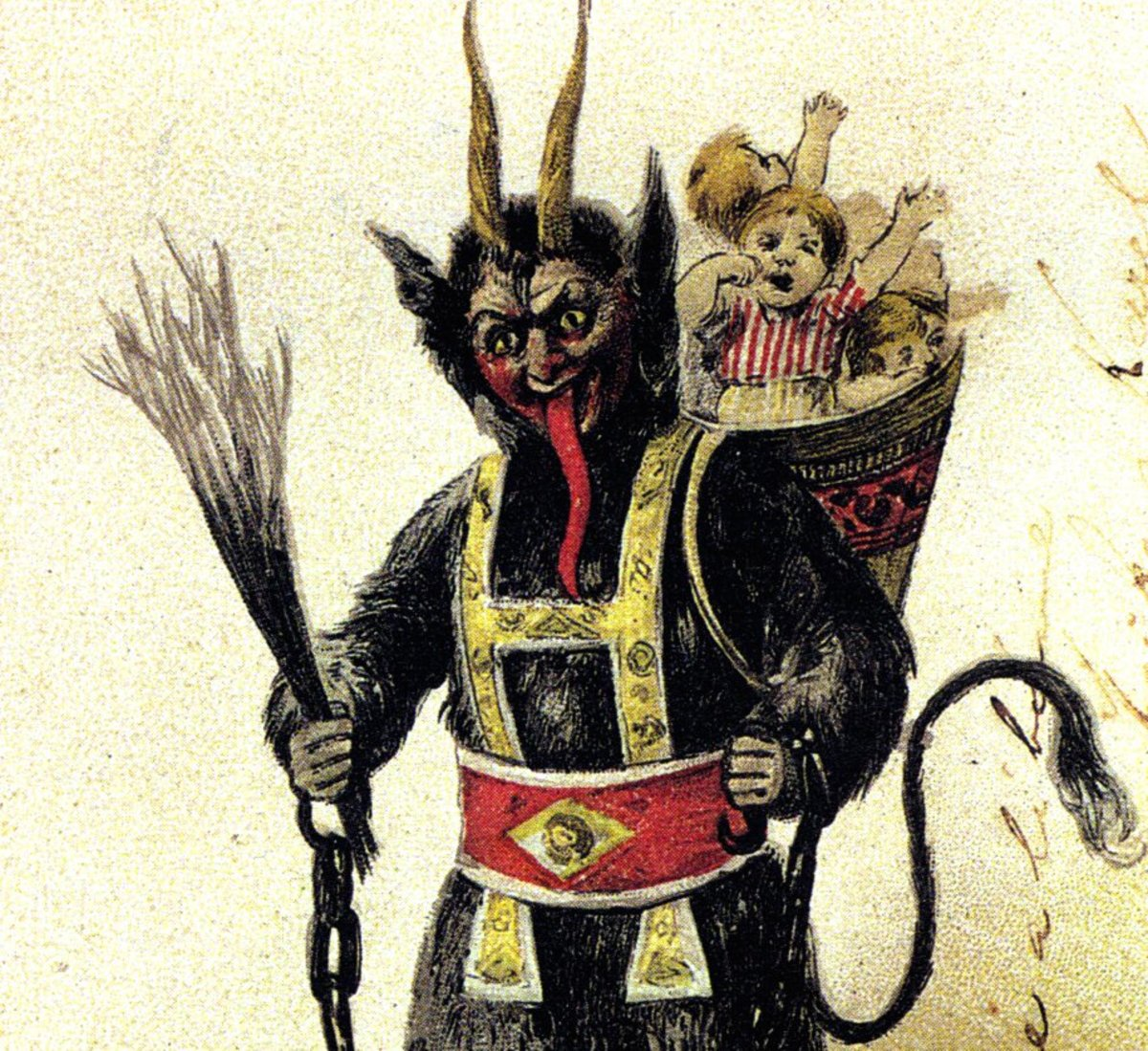 Vintage Greeting Cards from Krampus - Tattoo Ideas, Artists and Models