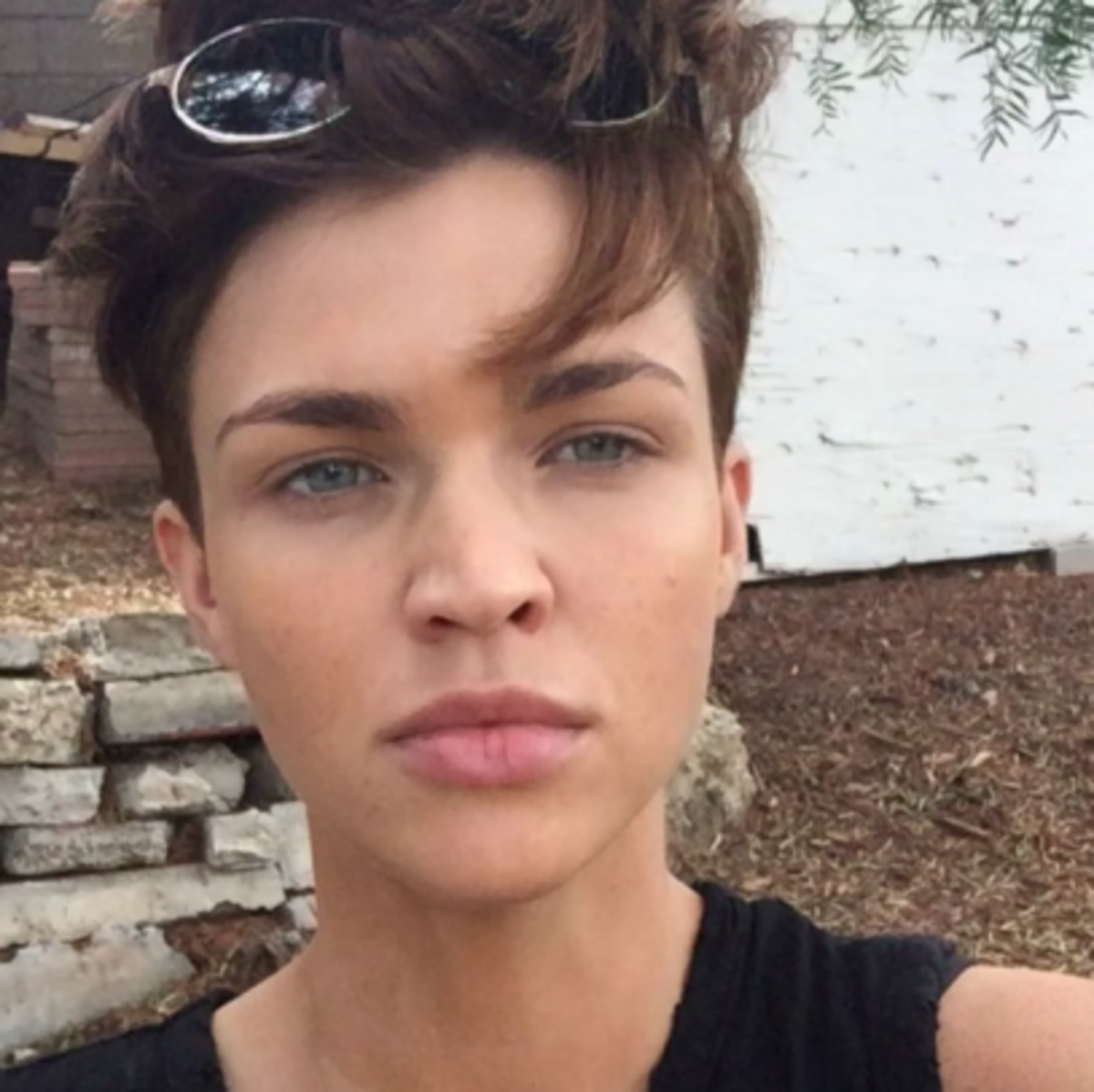 Famous Actors Without Tattoos: Ruby Rose Removed Her Tattoos - Inked Celebrities