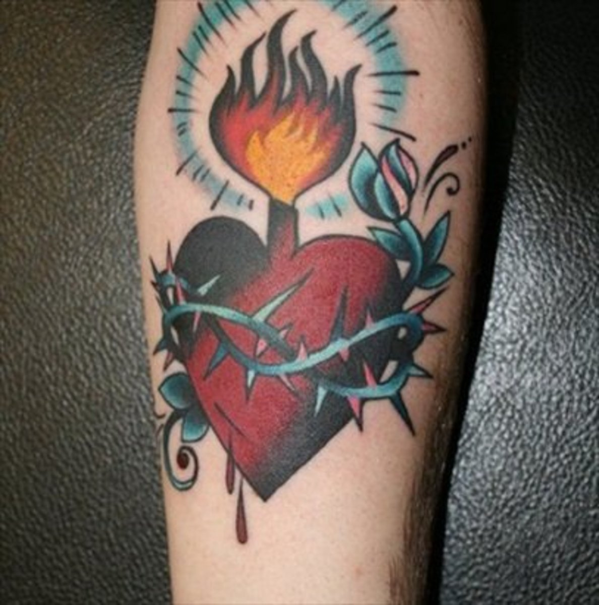 Sacred Heart Tattoos Tattoo Ideas Artists And Models