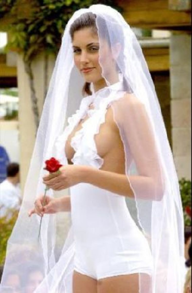 25 Trashy And Tacky Wedding Dresses Tattoo Ideas Artists And Models