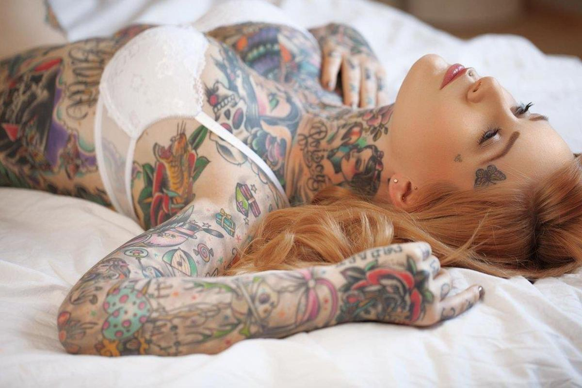 Tattooed women, what women want in bed, best sex, sex tips, what tattooed women want in bed
