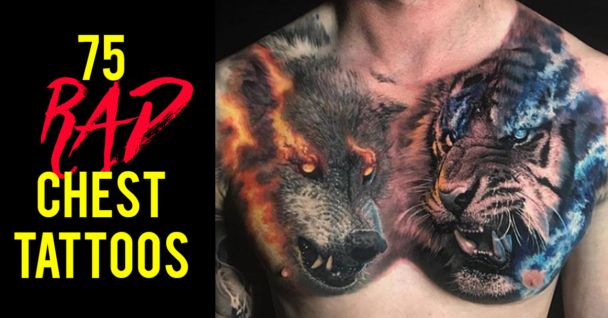 75 Rad Chest Tattoos By Some Of The World's Best Artists
