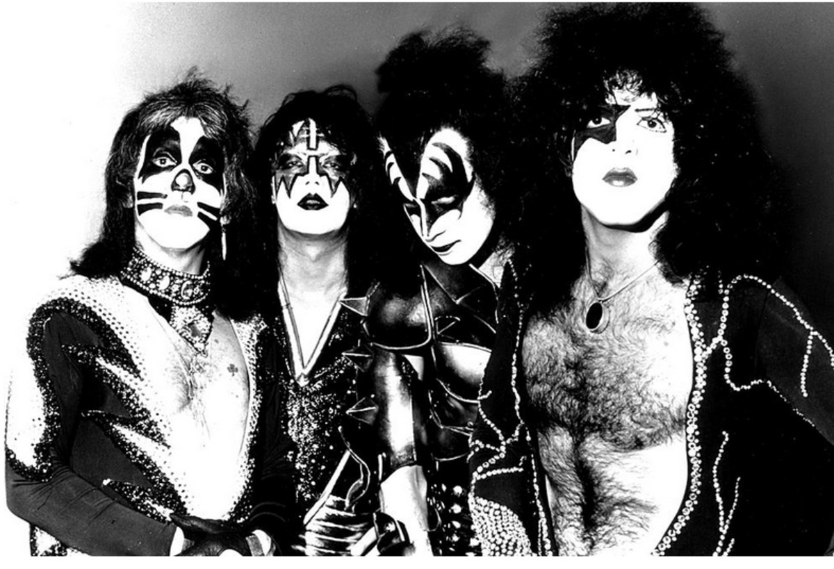 1973– 1980: Gene Simmons, Paul Stanley, Peter Criss, Ace Frehley