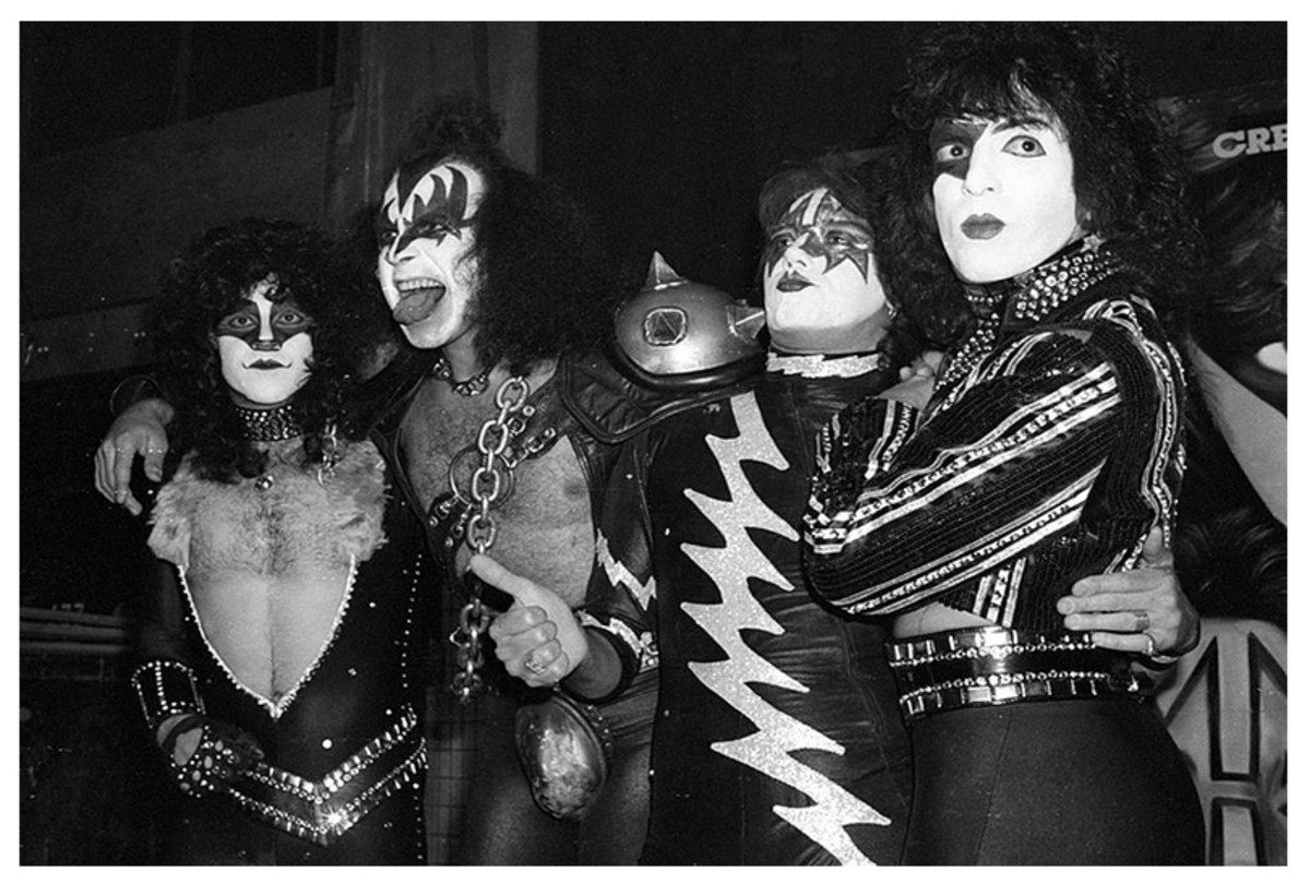 1980 -1982: Gene Simmons, Paul Stanley, Ace Frehley, Eric Carr