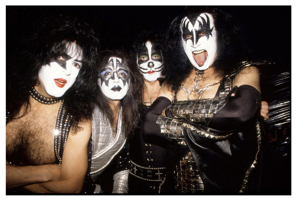 1996 – 2001: Gene Simmons, Paul Stanley, Peter Criss, Ace Frehley