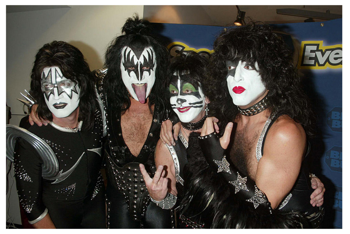 2003: Gene Simmons, Paul Stanley, Tommy Thayer, Peter Criss