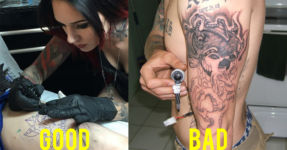 How To Tell A Good Tattoo Artist From A Bad Tattoo Artist Tattoo Ideas Artists And Models