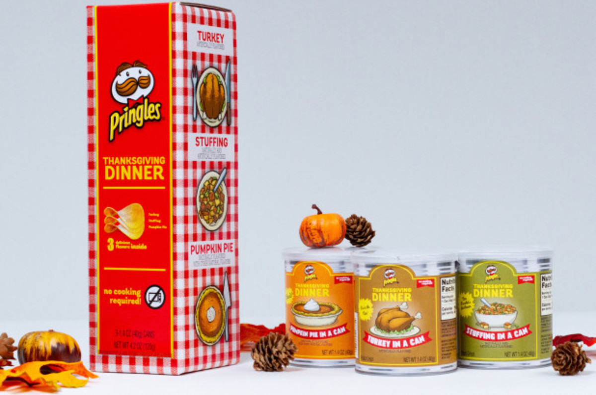 Thanksgiving Pringles, Thanksgiving Dinner, Holiday Pringles, Limited Edition Pringles, Easy Friendsgiving, Easy Thanksgiving Dinner, Kellogg's Pringles