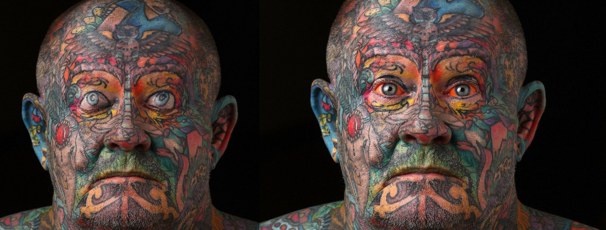 60-Year-Old Ex Gangster Tattoos Whole Body Out of Self-Hatred ...