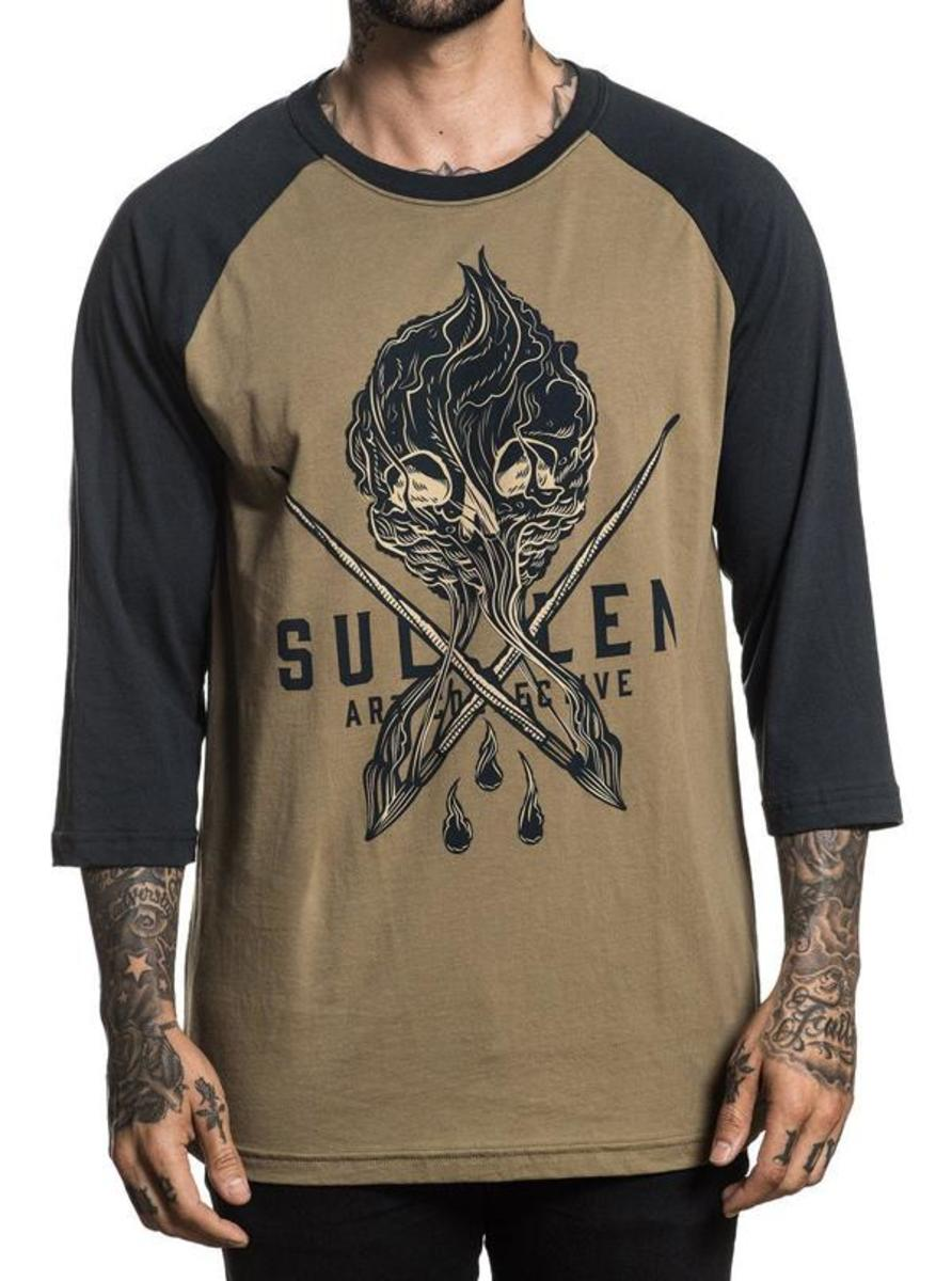 "MEN'S ""PRICE BADGE"" RAGLAN TEE BY SULLEN"