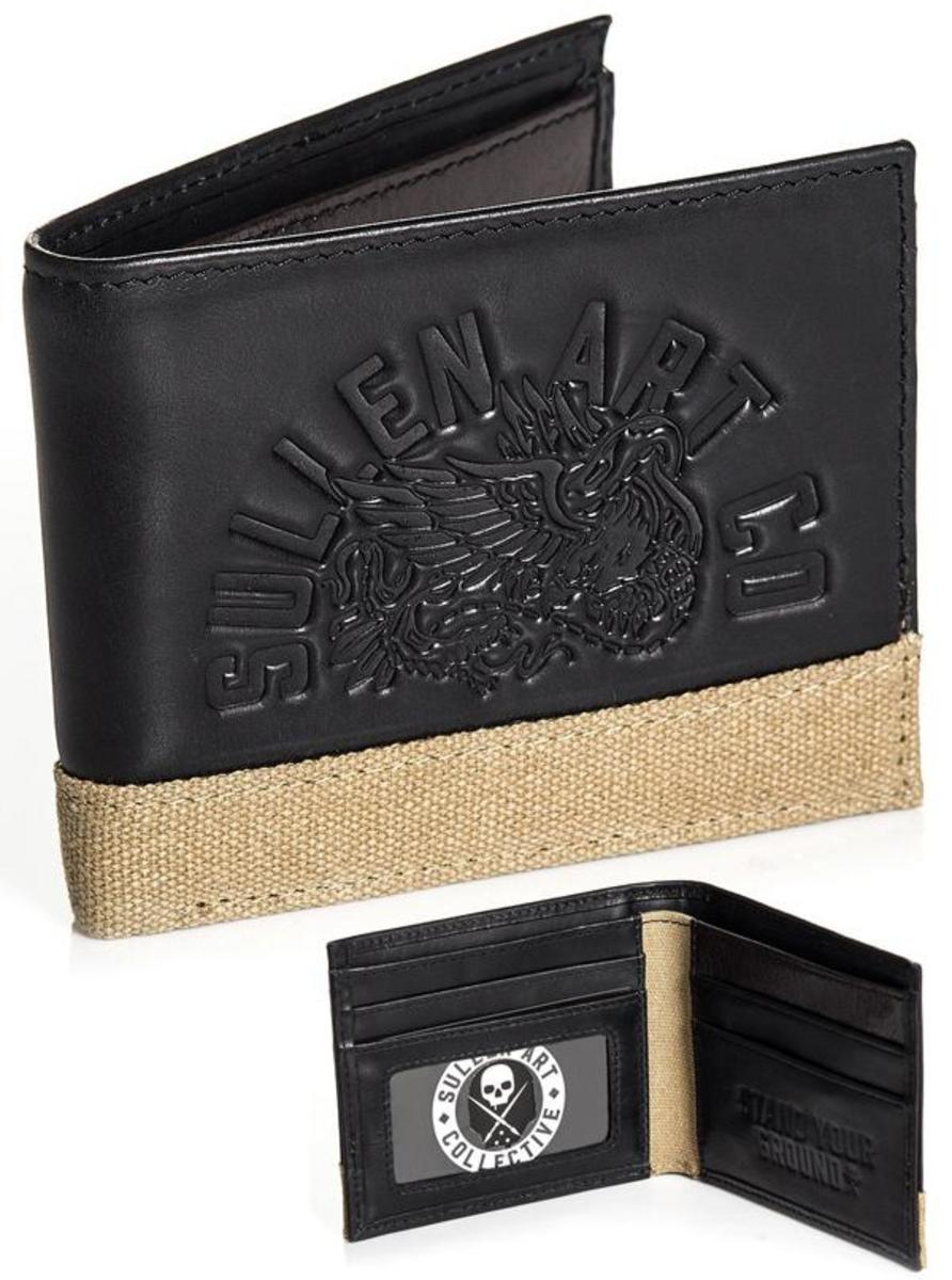 "MEN'S ""STAND YOUR GROUND"" WALLET BY SULLEN"