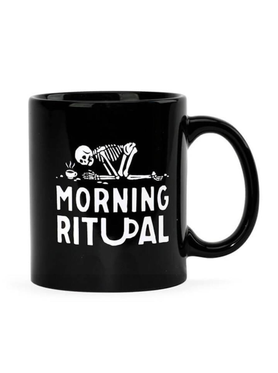 """MORNING RITUAL"" COFFEE MUG BY PYKNIC"