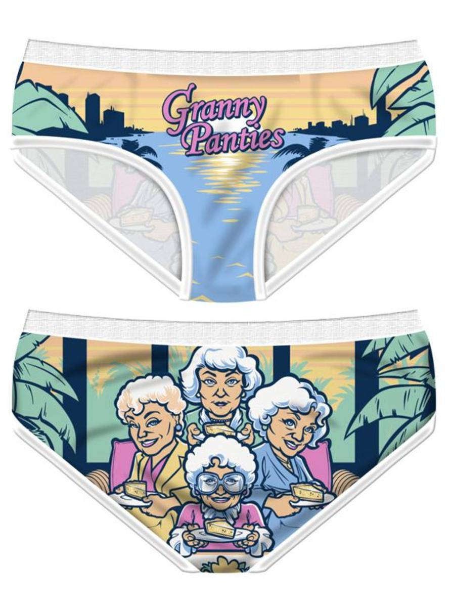 "WOMEN'S ""GRANNY PANTIES"" BRIEFS BY HAREBRAINED!"