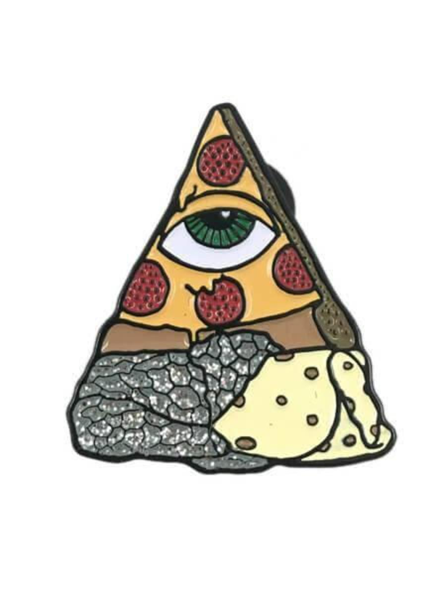 """""""BURRIZZA"""" PIN BY PIZZA SHIPS"""