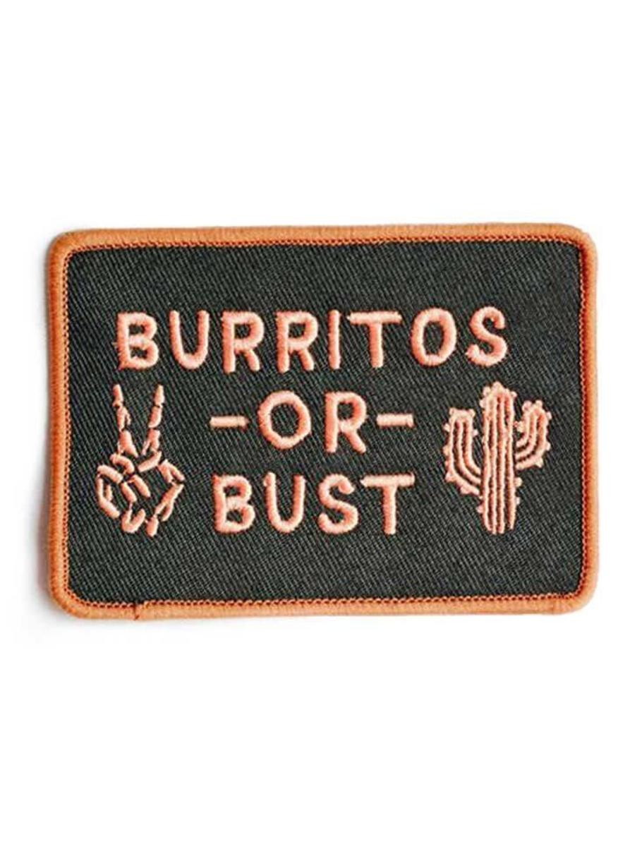 """BURRITOS OR BUST"" PATCH BY PYKNIC"