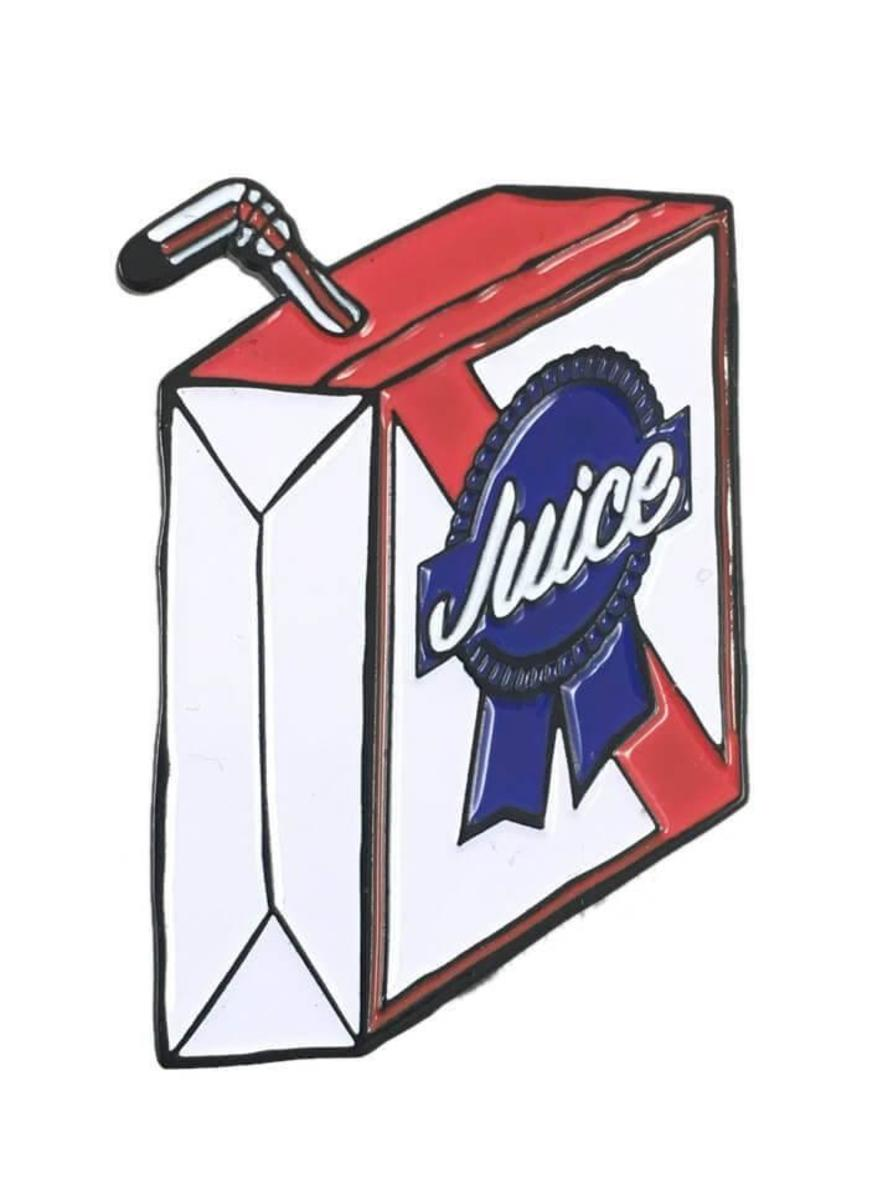 """""""JUICE"""" PIN BY PIZZA SHIPS"""