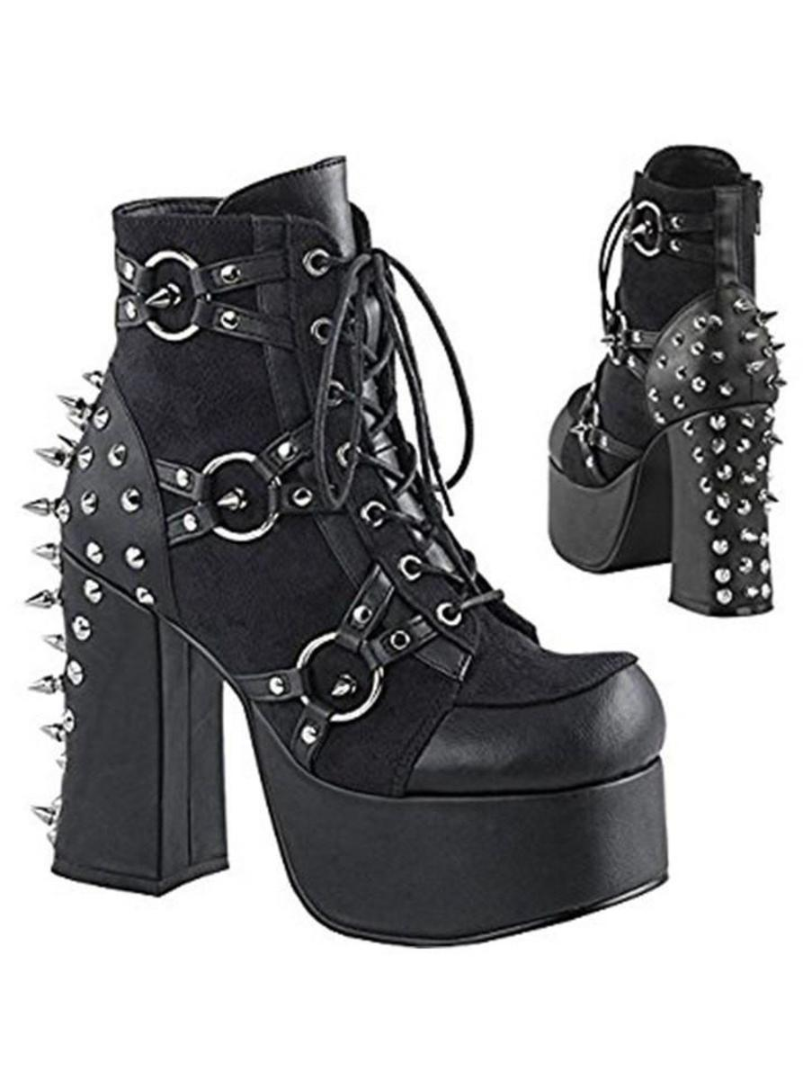 "WOMEN'S ""CHARADE -100"" HEEL BOOTS BY PLEASER"